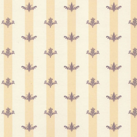 Middlemarch Plum - Dolls House Wallpaper