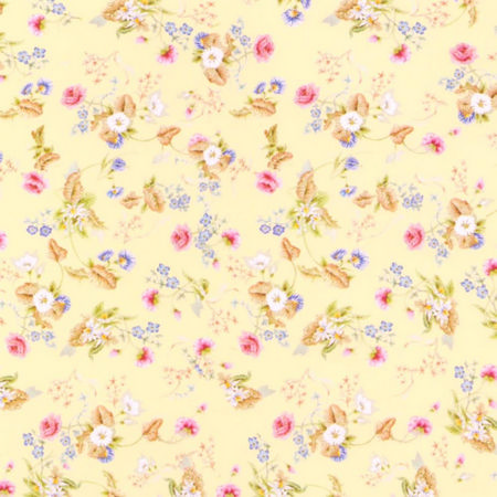 Rocco Silk Dolls House Wallpaper - Corn