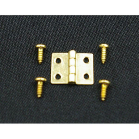 8mm Brass Hinges pack of 10