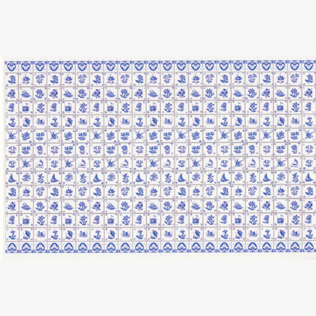 Blue Delft Wall Tiles Sheet #2