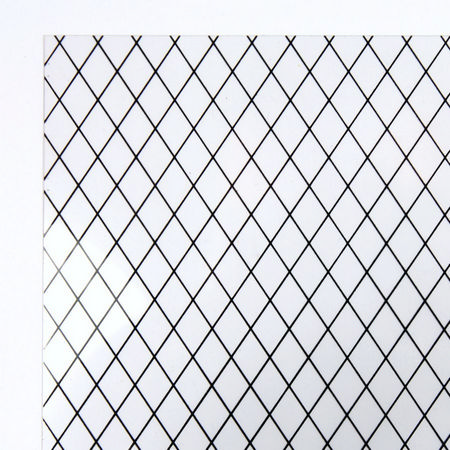 Diamond Lead Light Acrylic Window Sheet