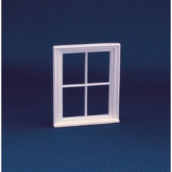 Victorian 4 Pane Window Frame (Plastic) 1:24 scale