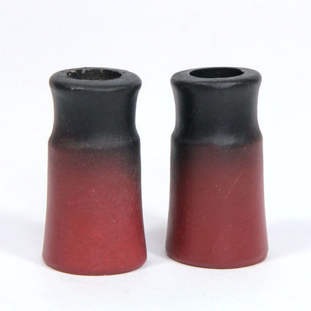 Chimney Pots (pair) Distressed Chimneys for 1:12 Scale Dolls House