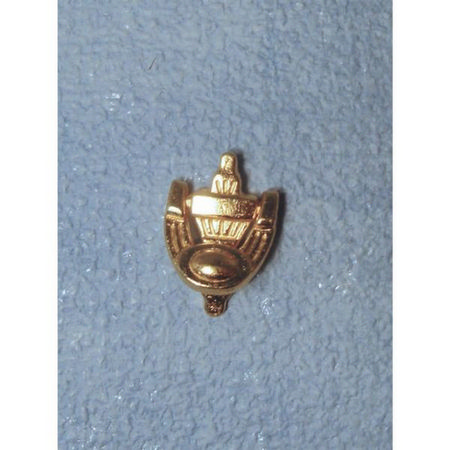 Brass Door Knocker for 1:12 Scale Dolls House