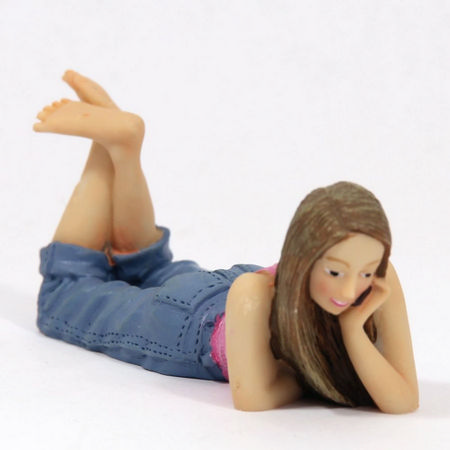 Dolls House Resin Teenage Girl Figure