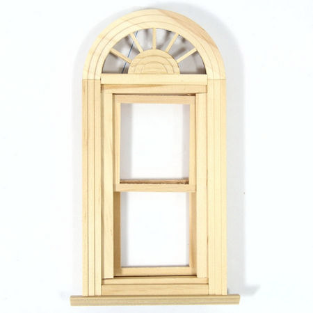 Palladian Double Hung Working Window