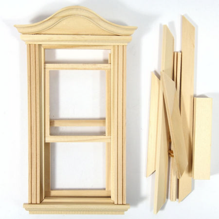 Bonnet Pediment Working Window 1:24 Scale