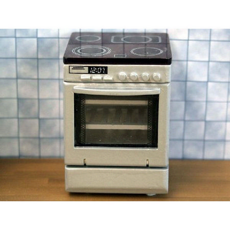 Modern Cooker for Dolls House 1:12