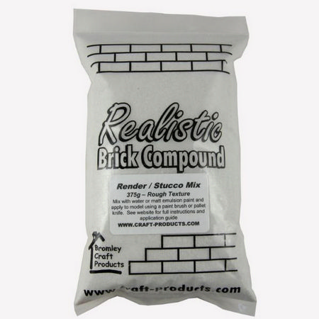 Realistic Render / Stucco Compound - 375g Bag