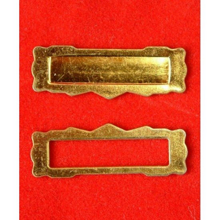 Brass Letterbox (Two Part) - 1:12 Scale
