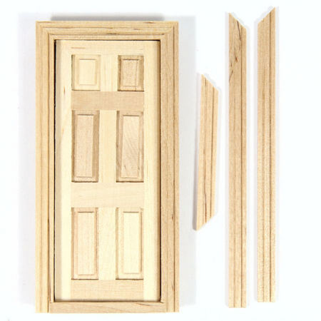 Interior 6 Panel Door for 1:24 scale Dolls House