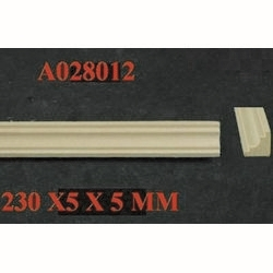 Cornice / Coving Moulding (single) - 1:24 scale