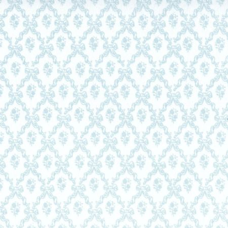 Melissa Blue Dolls House Wallpaper