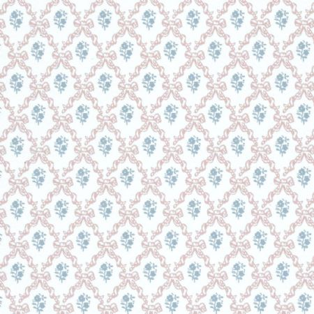 Melissa Pink Dolls House Wallpaper