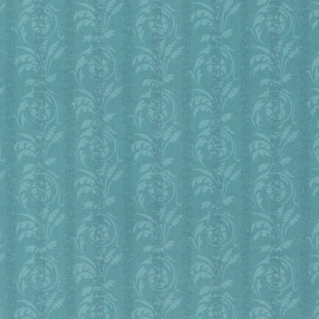 Nouveau Leaf Cornflower Dolls House Wallpaper