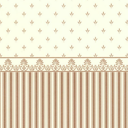 Grosvenor Gold / Cream Dolls House Wallpaper