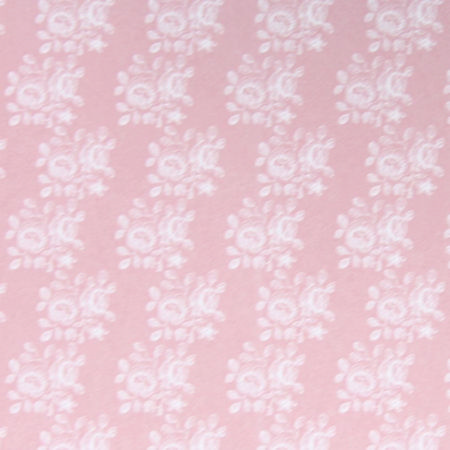Blenheim Pastel Pink Wallpaper - 1:24 Scale