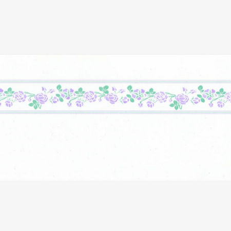 Rose, Lilac Dolls House Wallpaper Border