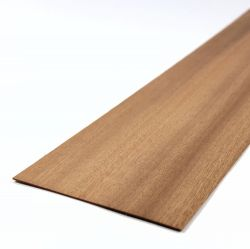 Mahogany Sheet 450mm x 100mm x 0.8mm
