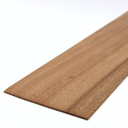 Mahogany Sheet 450mm x 100mm x 1.5mm