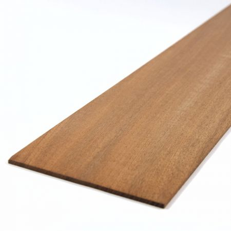 Mahogany Sheet 450mm x 100mm x 3.0mm