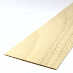 Obeche Sheet 450mm x 100mm x 1.5mm