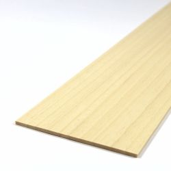 Obeche Sheet 450mm x 100mm x 3.0mm