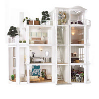 Malibu Beach House  Dolls House Kit