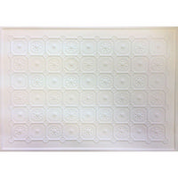 Moulded Dolls House Ceiling Sheet