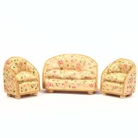 Resin Sofa & Chair Set for 1:24 scale dolls house