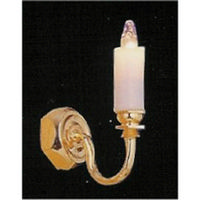 Single Candle Wall Light (LTH42003) 1:24 scale