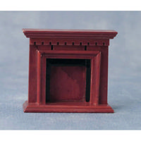 Wooden Fireplace for 1:24 scale dolls house