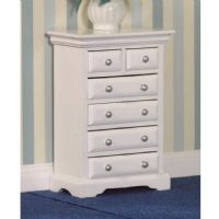 White Painted Drawer Unit