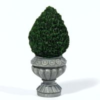 Flat Backed Topiary Bush