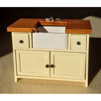 Shaker Style Sink Unit - Cream