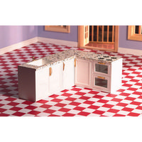 L Shape All in One Kitchen - DAMAGED