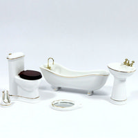 Elegant 'Savoy' Bathroom Set 6pc