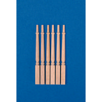 Pack of 12x Square Based Spindles 1:12 Scale