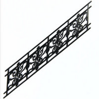 Wrought Iron Stair Railing (plastic)