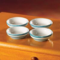 Cornish Style Cereal Bowls x4