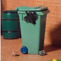 Green Wheelie Bin Dustbin