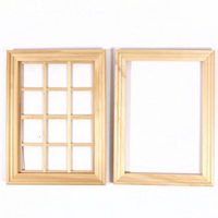Medium Wooden Window 12 Pane