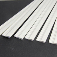 White Painted Skirting Board Moulding x6 pcs