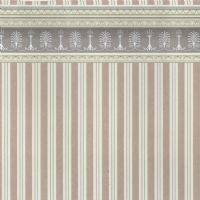 Heather Stripe Dolls House Wallpaper