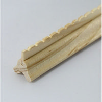 Dolls House Ridge Moulding - 2x Pieces