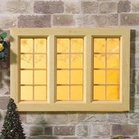 Cottage Wooden Window Large