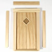 Cottage Door - 1:12 scale