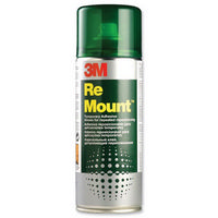 3M Remount Repositionable Adhesive 400ml