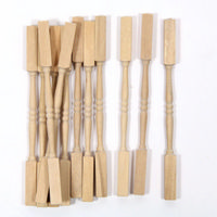 Pack of 12x Spindles for 1:12 Scale Dolls House