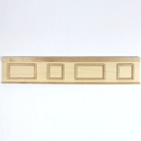 Wooden Panelling for 1:12 scale Dolls House